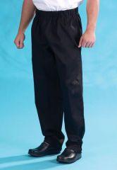 Denny's DC18 black elasticated trouser
