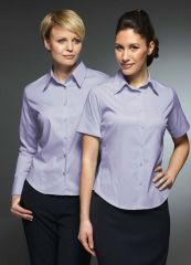 Flo - Long & Short Sleeve Plain Work Blouse