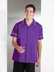 R52 Male Nurse Zip Tunic
