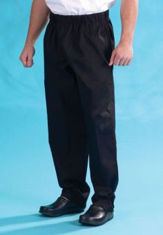 Denny's DC18 black elasticated trouser