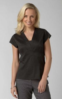 Joanna - Short Sleeve Plain Work Blouse