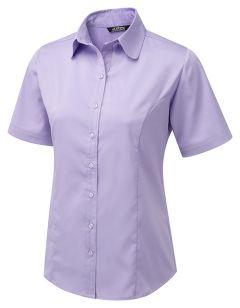 Katy Round Collar Cotton Touch Blouse