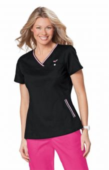Koi Ashley Crossover Top with Trim