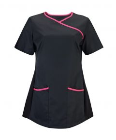 NF43 Scrub Top Mock Wrap (female fit)