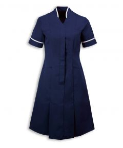 NF51 Mandarin Collar Dress