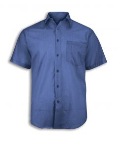 NU951 Woven colour short sleeved shirt