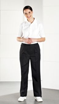 R43: Female Side Elasticated Salon Trouser