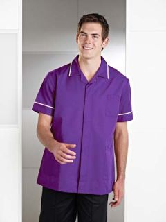 R52 Male Nurse Zip Tunic