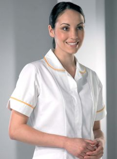 R7 Monterey Open Zip Female Nurses Tunic