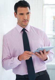 Mens Long Sleeve Office Shirt - Rufina