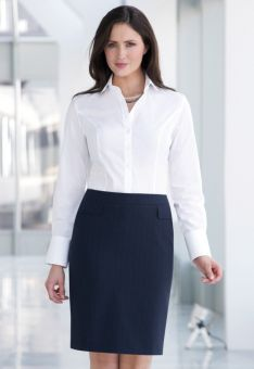 Ladies Straight Office Skirt - Taranto