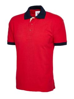 UC107 Unisex Contrast Polo Shirt