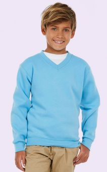 UC206 Childrens V Neck Sweatshirt