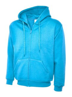 UC504 Adults Classic Full Zip Hooded Sweat Shirt