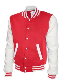 UC526 Ladies Varsity Jacket