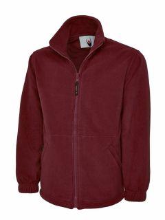 UC601 Unisex Adults Heavyweight Premium Full Zip Fleece Jacket