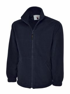 UC604 Unisex Adults Classic Full Zip Fleece Jacket