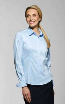 Zoe - Long &Short Sleeve Plain Work Blouse