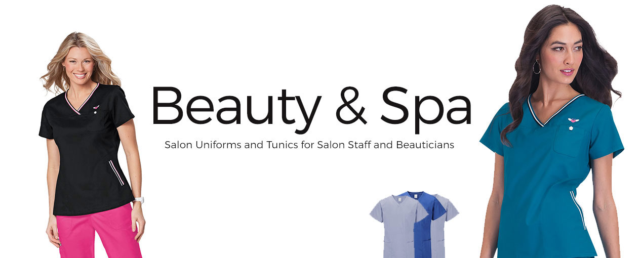 Beauty and spa clothing