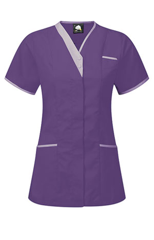 Tonia Purple Lilac nurse dress
