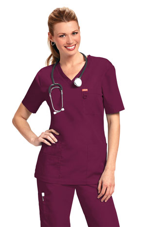 Orange-Balboa-Wine Healthcare Dress